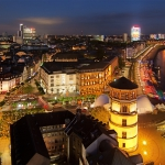 dusseldorf by night
